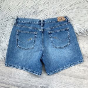 Tommy Jeans retro spellout denim shorts 9